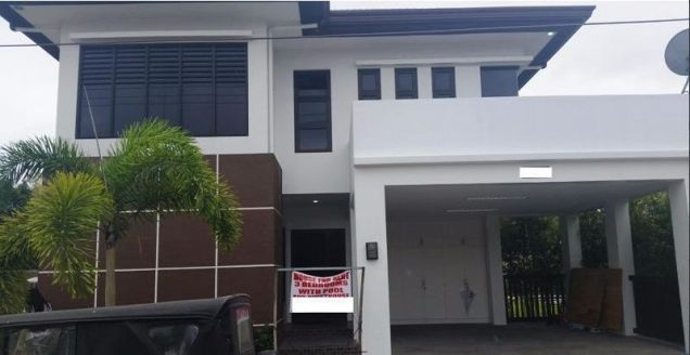 4 Bedroom Furnished House With Swimming Pool For Rent At 120k