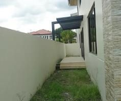 House and lot for rent inside a gated Subdivision in Hensonville - 50K - 1