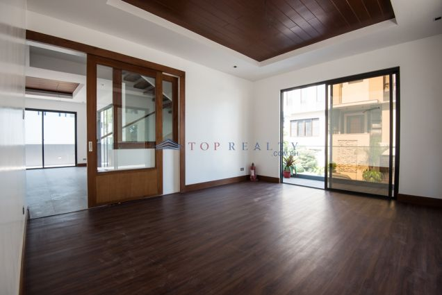 Brand New House and Lot for Rent in mckinley Hill Village 4 Storey - 1