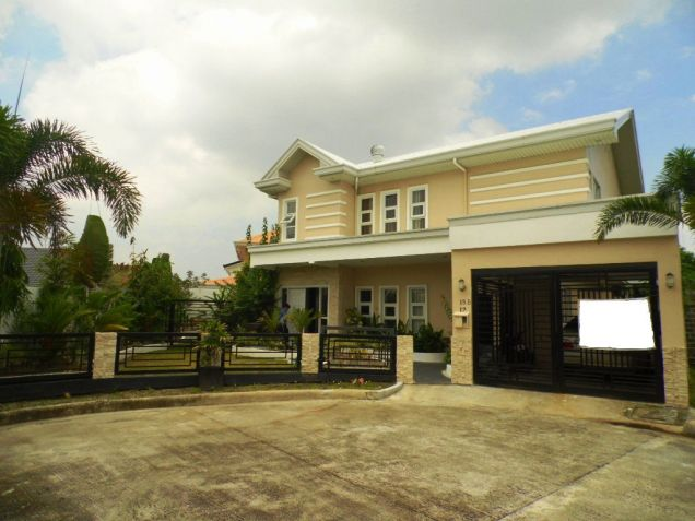Furnished House and lot for rent inside a secured Subdivision for rent - 70K - 0