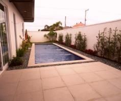 This 3 bedroom Semi - furnished house is located in a safe and secured subdivision - 1