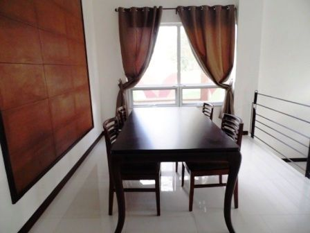 This 2 Storey House with Spacious Living room for rent at P55K - 9