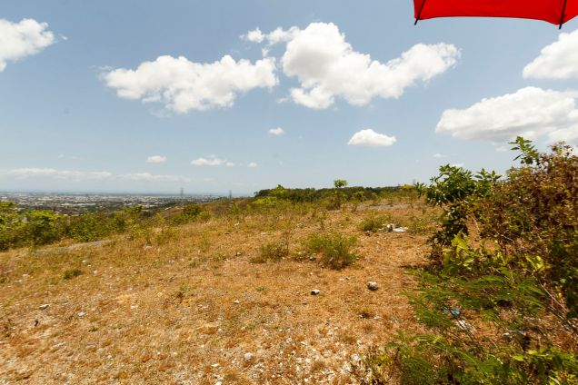 1000 SqM Hilltop Lot for Sale Overlooking Cebu City - 3