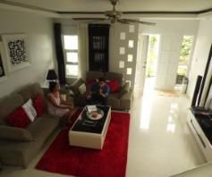 Furnished House and lot for rent inside a secured Subdivision for rent - 70K - 9