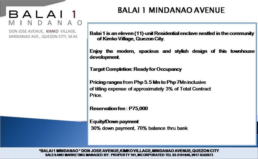 balai 1 mindanao property 101 inc