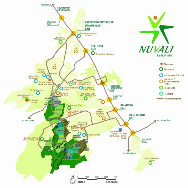 Residential Lot For Sale In Nuvali, Canlubang, Laguna