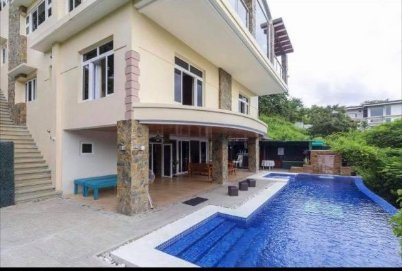 4br House And Lot W Pool Sauna Ofc Gym In Terrazas De