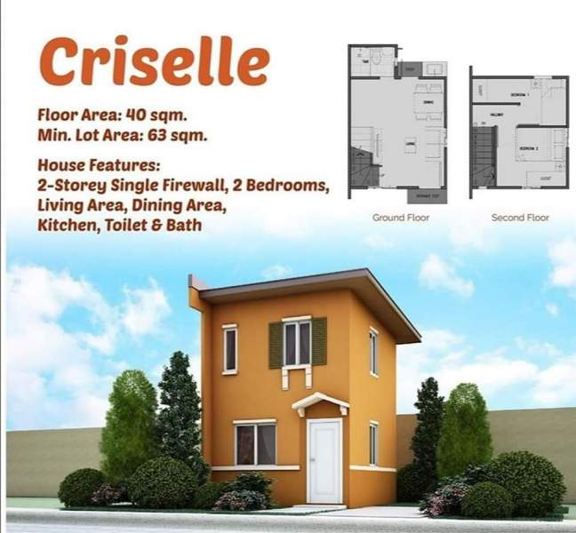 2 Storey Single Firewall 2br Criselle House For Sale Cagayan